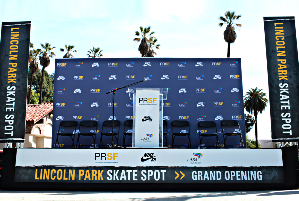 Nike SB Event Branding