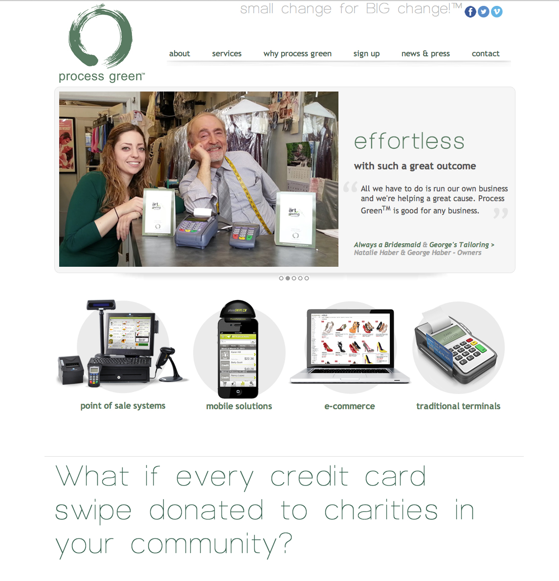 Payment Processing Company Website Design