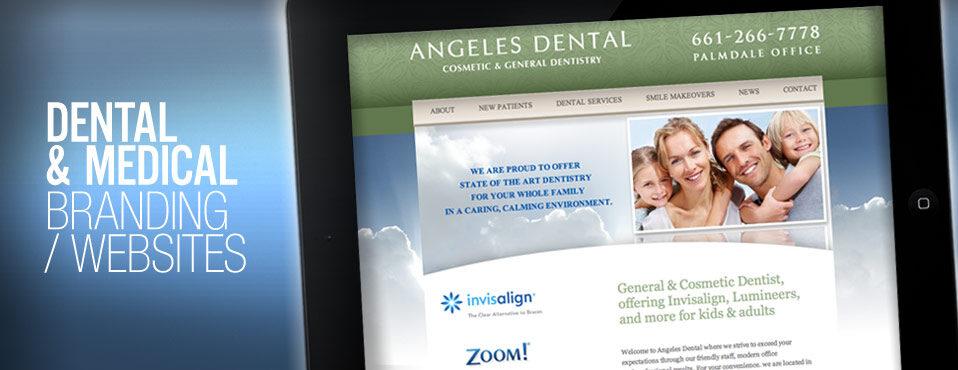 Dental office branding website